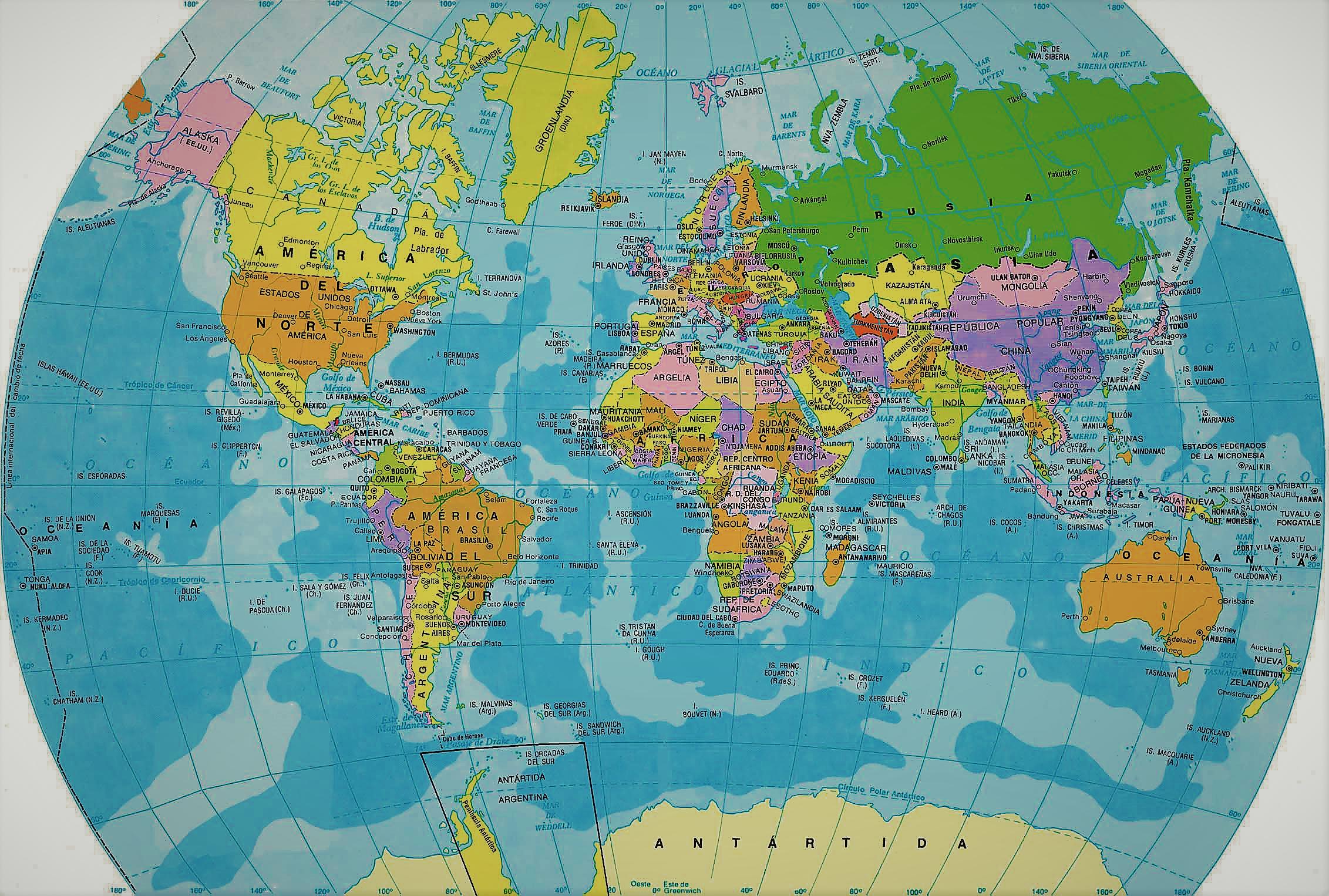 La Web De Los Mapas Del Mundo