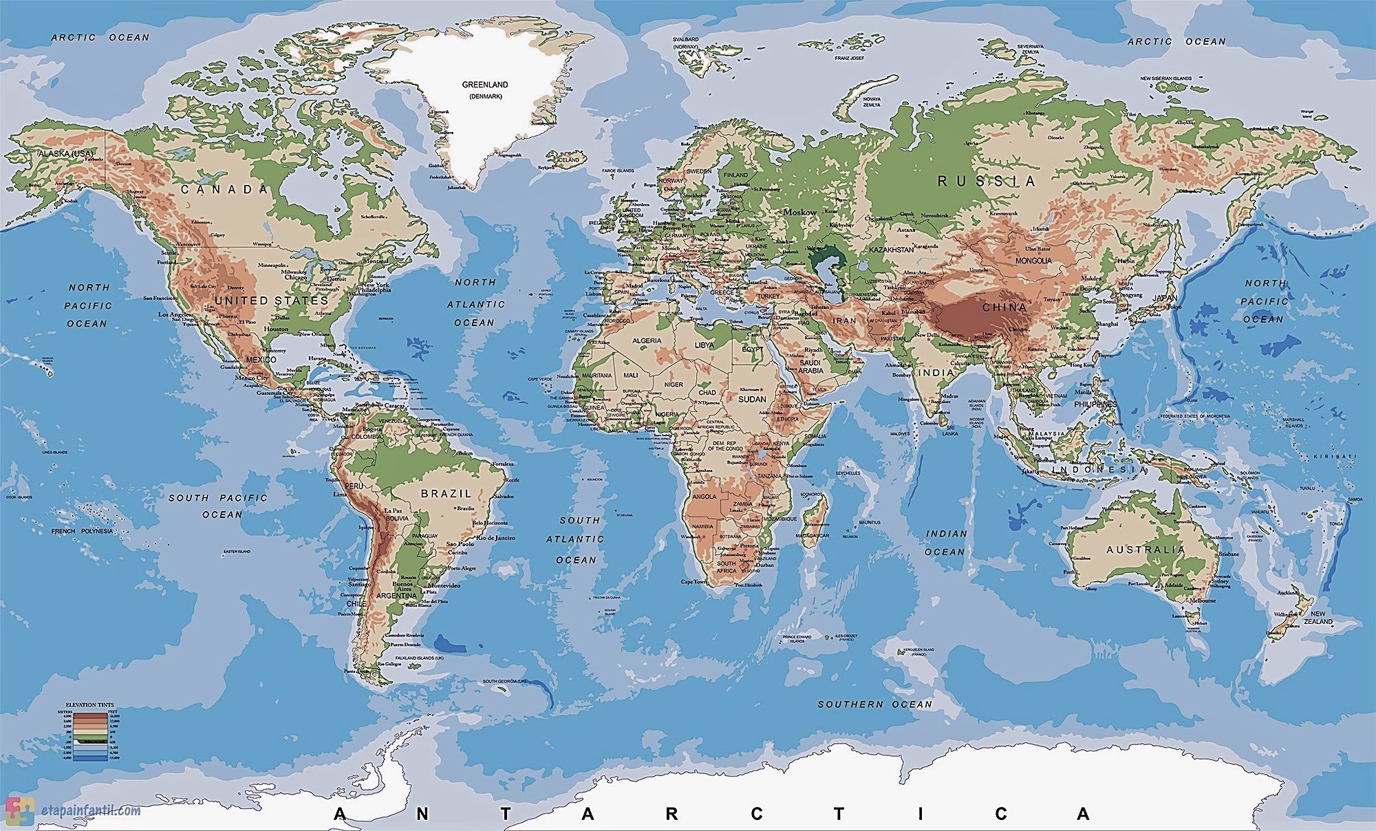 Mapa Fisico Del Mundo Sin Nombres Para Imprimir.25 Elegante Mapamundi Con Nombres En Grande
