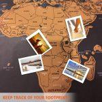 mapa mundi paises visitados