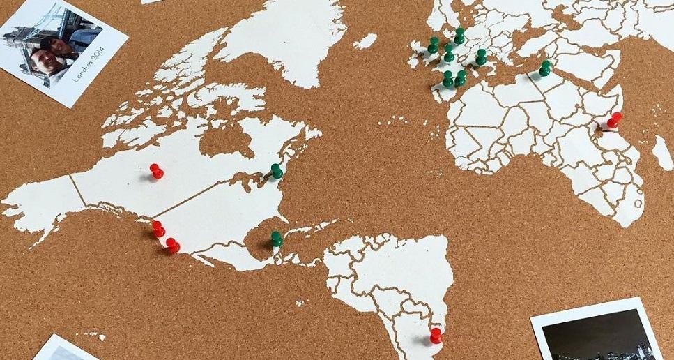 comprar mapamundi de corcho online