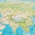 asia mapa fisico