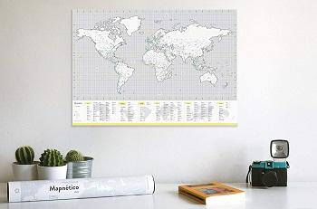 mapa del mundo magnetico mapnetico