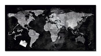 mapa mundi magnetico