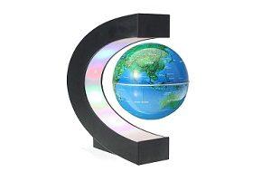 globo terraqueo que levita magnetico