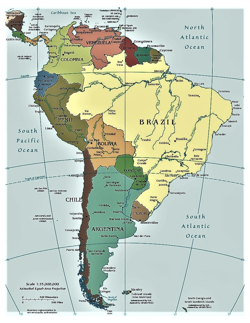 Mapa Sudamerica Y Centroamerica.Mapa De Centro Y Sudamerica Jasonkellyphoto Co