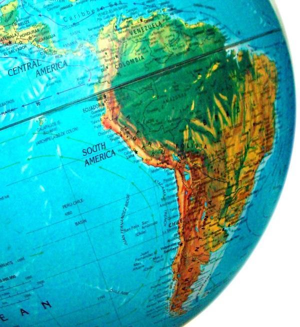 ▷ Mapa de América del Sur 🥇 Mapas de Sudamérica ⊛ Suramérica