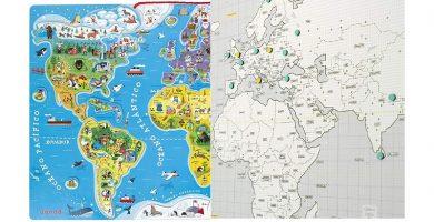 comprar mapa mundi magnetico