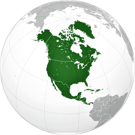 norteamerica globo terraqueo mundi