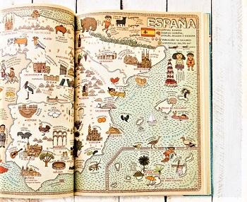 atlas del mundo españa