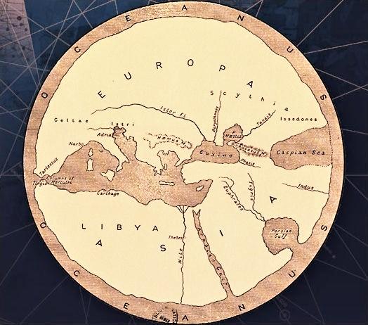 mapamundi anaximandro