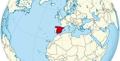 mapamundi españa espana