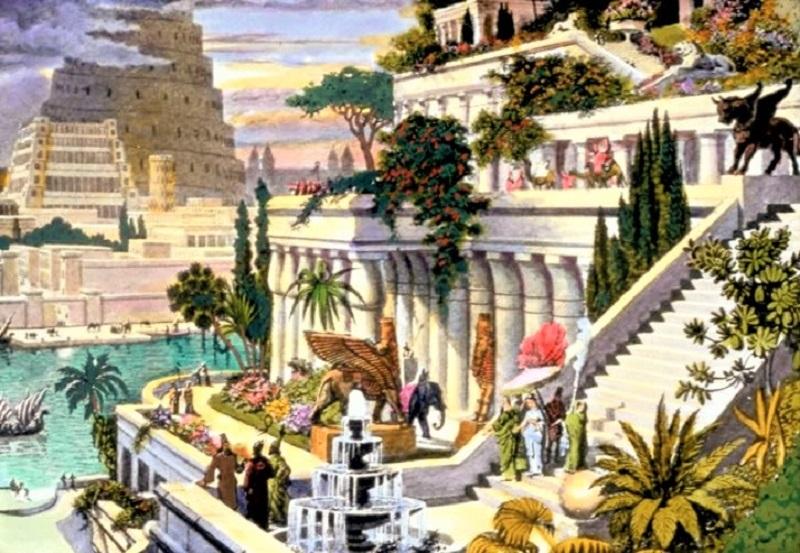 jardines babilonia maravilla del mundo antigua