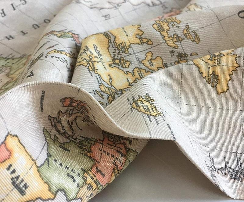 lona mapa mundi