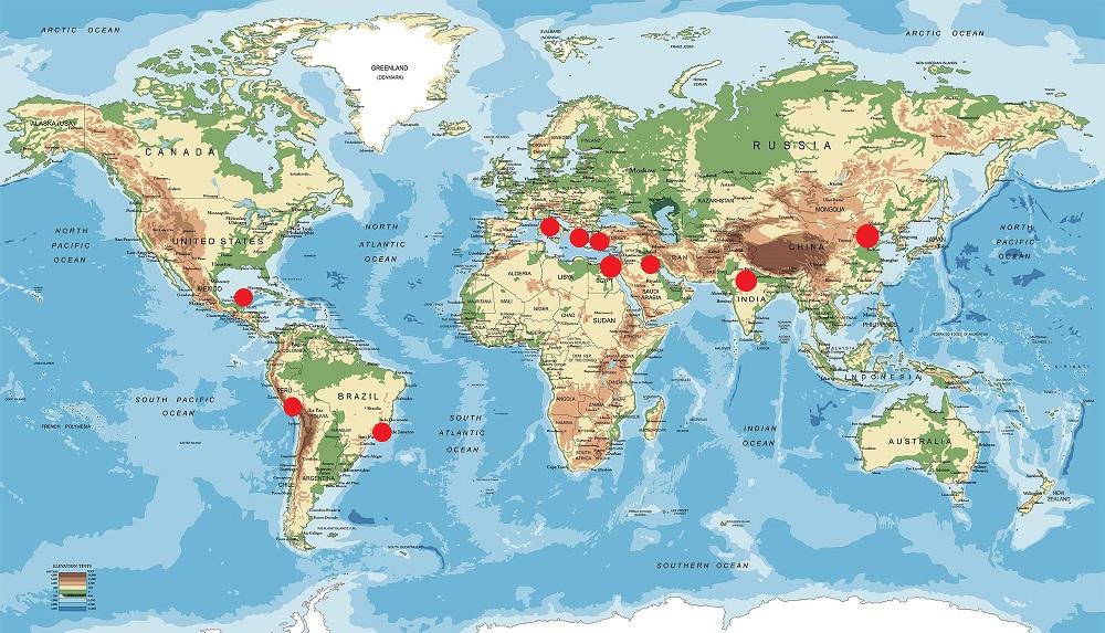 mapamundi maravillas del mundo
