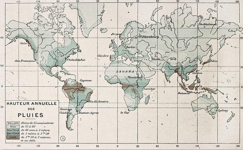 papel pintado mapamundi vintage