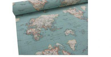 tela mapamundi