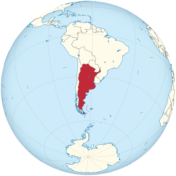 mapamundi argentina globo terraqueo mundo