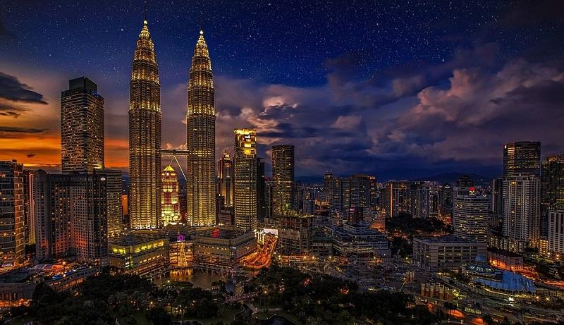 Kuala Lumpur, Malasia - 13.53 millones de visitantes internacionales