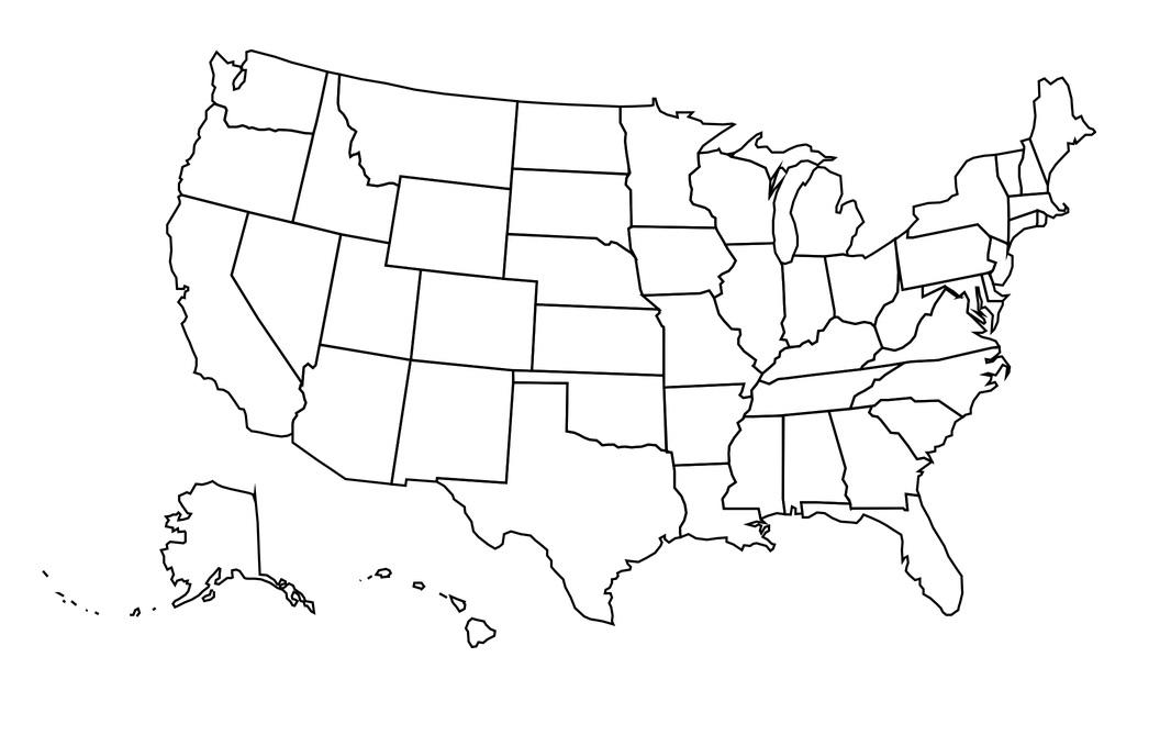 Mapa De Estados Unidos Político Físico Descargar