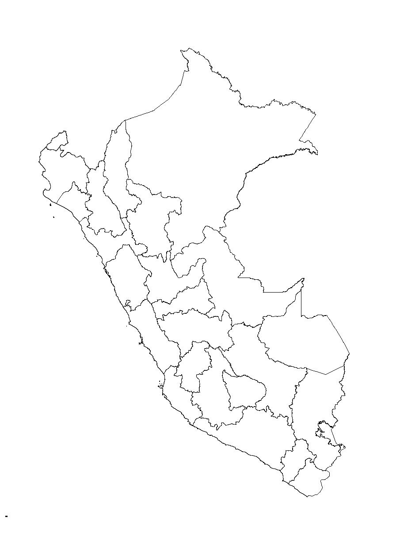 Mapa Del Peru Politico Fisico Con Nombres Para Imprimir 2020