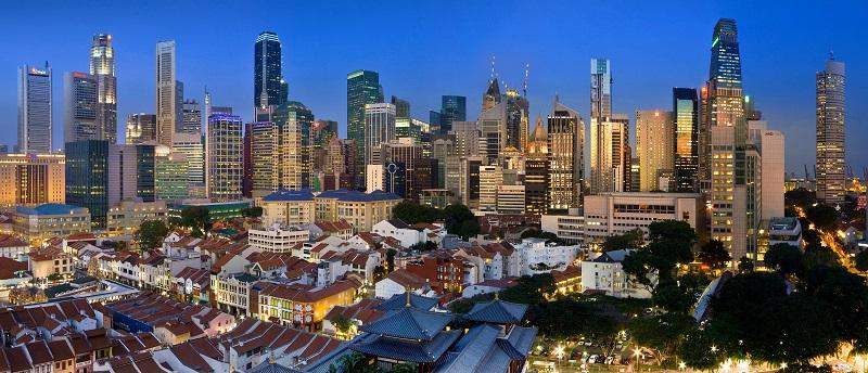 Singapur - 14.47 millones de visitantes internacionales