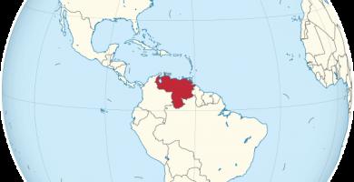 venezuela globo terraqueo mapamundi