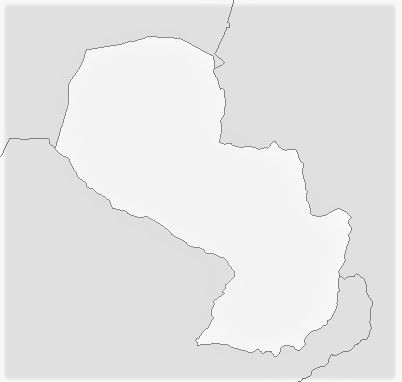 mapa mudo paraguay colorear imprimir rellenar pintar dibujar escribir