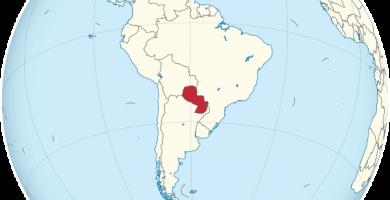 mapamundi paraguay