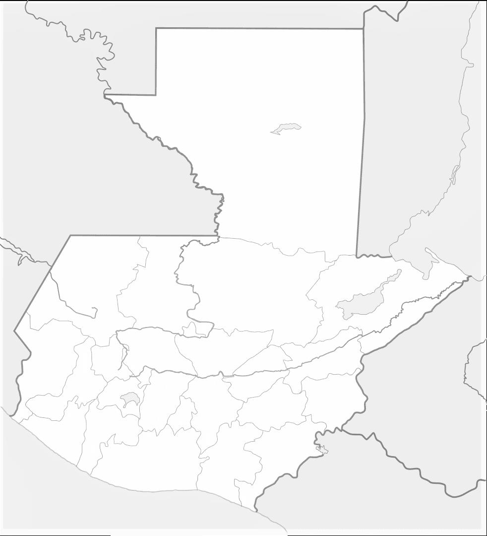 Mapa De Guatemala Político Físico Grande Para