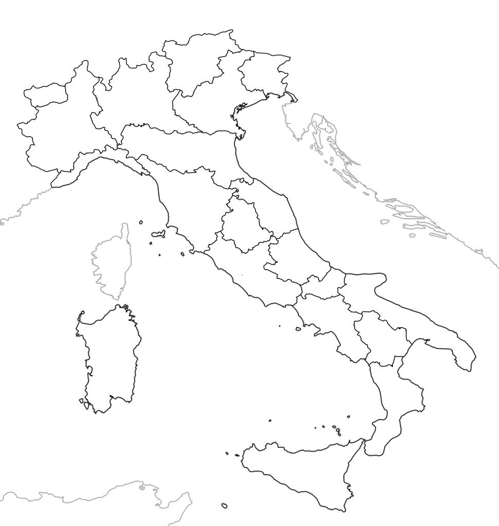 mapa italia imprimir blanco