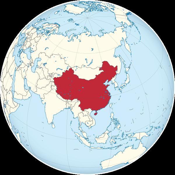Mapa Del Mundo China.Mapa De China Politico Fisico Imprimir Colorear Grandes