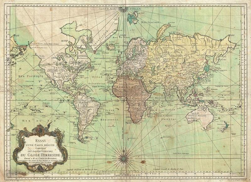 planisferio historico 1778