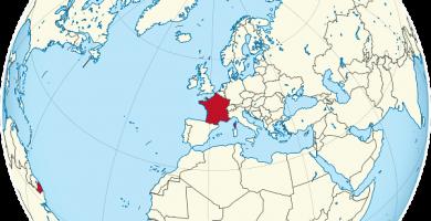 mapamundi francia