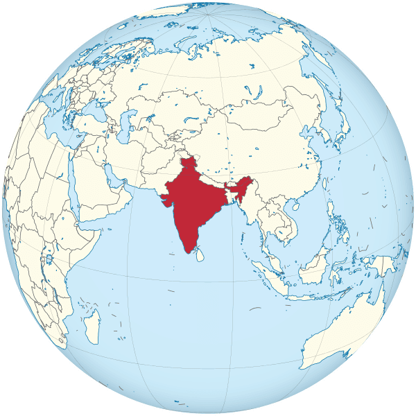 india mapamundi globo terraqueo