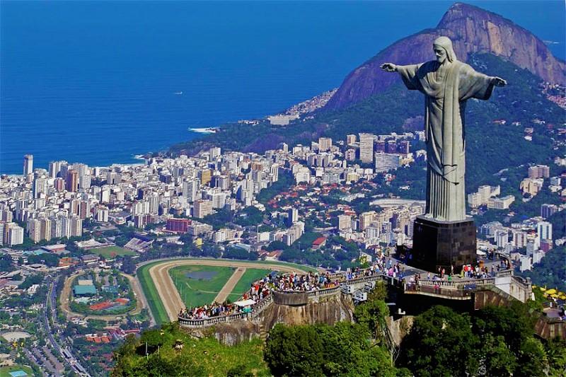 cristo redentor maravilla del mundo brasil