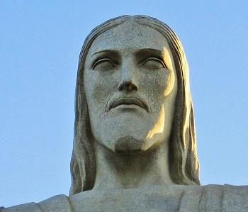 cristo redentor rostro cabeza cara