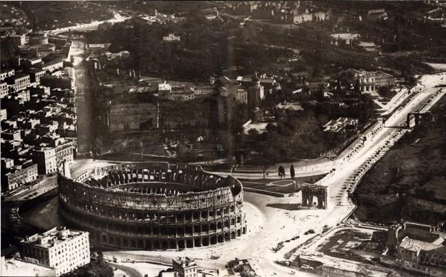 historia coliseo romano italia