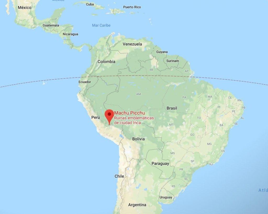 machu picchu ubicacion mapa