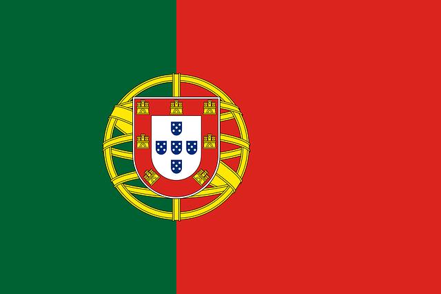 bandera portugal escudo