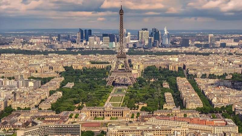 vista de paris francia