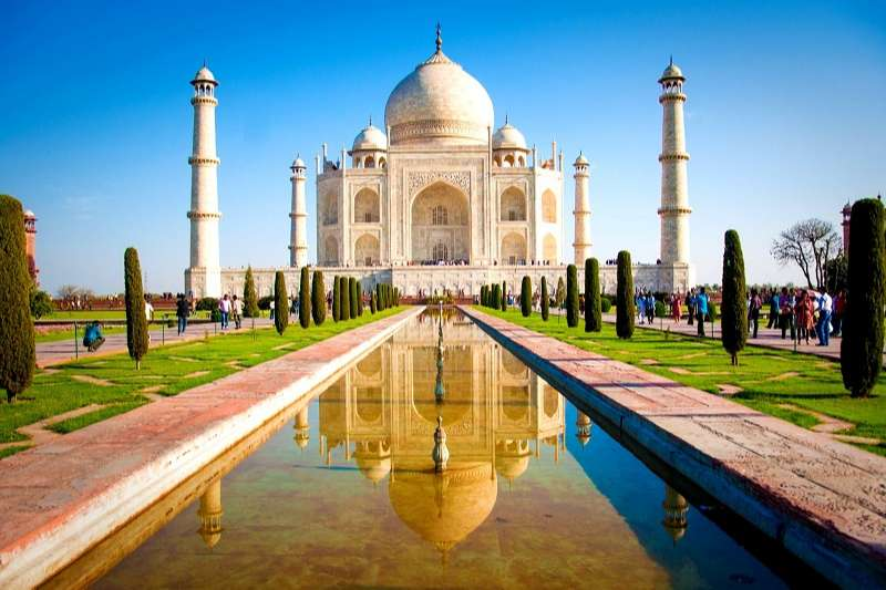 taj mahal india turismo