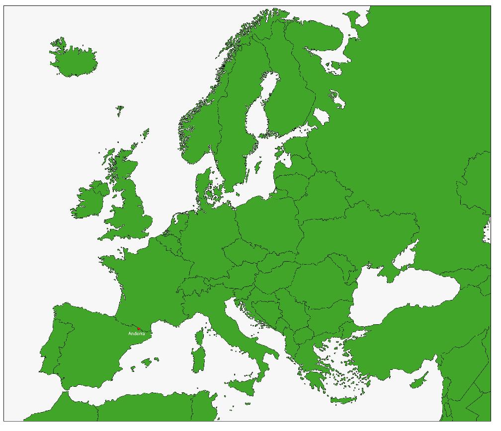mapa andorra europa